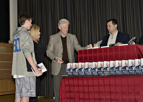 Clinton Chappaqua President Bill Clinton And Senator