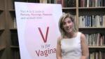 Dr. Alyssa Dweck, Author of V is for Vagina, Visits Temple Beth El of Northern Westchester (Video)
