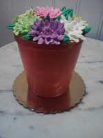 Flower Pot Cake (Courtesy Beascakes)