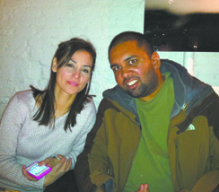 Crystal and Neel during a visit to New York last Thanksgiving.