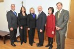 Our new Town Board! On the eve of a swearing in ceremony at Town Hall, Sec. Hillary Rodham Clinton joins Team New Castle's (L-R): Councilman Adam Brodsky, Deputy Supervisor Lisa Katz, Supervisor Robert Greenstein, Councilwoman Elise Mottel and Councilman Jason Chapin.