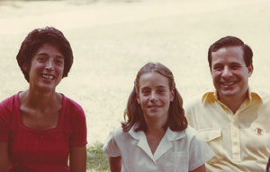 Kathy and Steven Seiden visiting their daughter Lisa (Seiden) McGowan at Tripp Lake Camp visiting day in 1979. Kathy was a Tripp Lake Camper in the mid-1950s.
