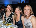Chappaqua residents (L to R) Jodi Falbaum, Heather Wohl, and Liz Fuerstman, whose children swim on the Marlins swim team, turned out to support the Boys & Girls Club of Northern Westchester at the Club's 20th Annual Humanitarian Awards Dinner held at Lexus of Mount Kisco on June 7, 2014. © 2014 Marianne A. Campolongo.