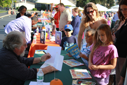 Chappaqua Children's Book Festival 2013, Bruce Degen. Photo Lauren Sabol