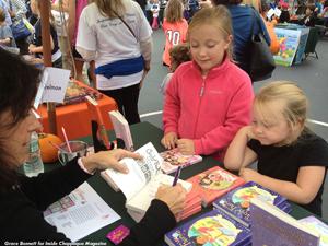 Chappaqua Children's Book Festival 2013, Helen Perelman. Photo Grace Bennett