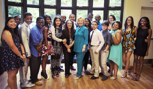 Hillary Clinton Congratulates Summer Program Graduates