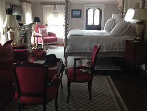 "The amazing ""Kate"" suite at the spectacular Three Stories, a new accommodation, which opened in July."