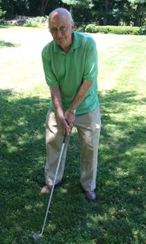 wally golfing