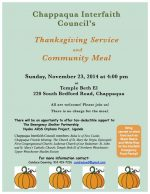 Chappaqua Interfaith Council