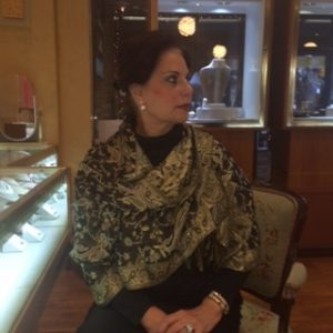 At her holiday fundraiser, Varda Singer, owner of ICD, will be offering a beautiful free shawl as a gift to all supporters of Making Headway.