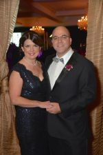 Daniel Blum of Chappaqua, the new president of Phelps Memorial Hospital Center, enjoyed the recent Phelps Champagne Ball with his wife, Tracey.