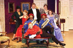From Armonk Players' 2008 production of Lend Me A Tenor. Pia Haas Photo