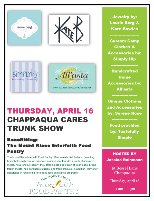 Chappaqua Cares Trunk Show