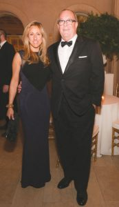 Georgia and Ron at a St. Luke's Orchestra gala