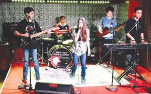 Ava Anduze, Jeremy Goldstein, Brian Siegel, Ethan Quirke and Dhruv Franklin