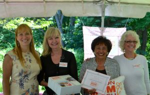 Million Mom Honorees L-R: Jill Brooke, Donna Dees-Thomases, Congresswoman Nita Lowey, and Elise Richman.