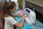 Sew Happy Sewing: Hand and Machine Sewing Instruction for Kids throughout Westchester