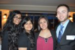 (L-R) Nethmi DeSilva, 2015 Youth of the Year; Lilian V. Chang and Cristy Lopez-Duarte, 2015 Youth of the Year Finalists; Cameron Rosen, 2015 Chris Cutri Award Winner.