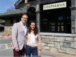 Peter and Erin Chase, the new proprietors of Chappaqua Station Farm to Town