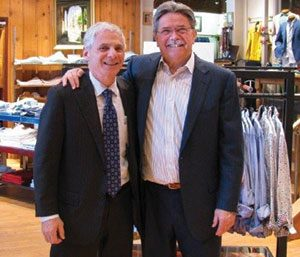 Barry Mishkin (L) and Rick Buggee (R), co-owners of local favorite Family Britches
