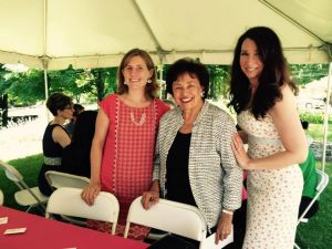 With Rep. Lowey: (L) Alex Dubroff, New Yorkers Against Gun Violence and Jessica Meller, volunteer for Million Moms March.