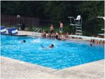 Swimming is a favorite activity at camp