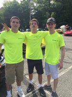 L-R: Brandon Spiegel, Sam Birenbaum, & Sam Matluck.