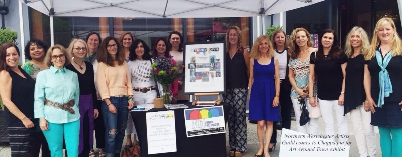 NWAG Members Kick Off Art Around Town Exhibition