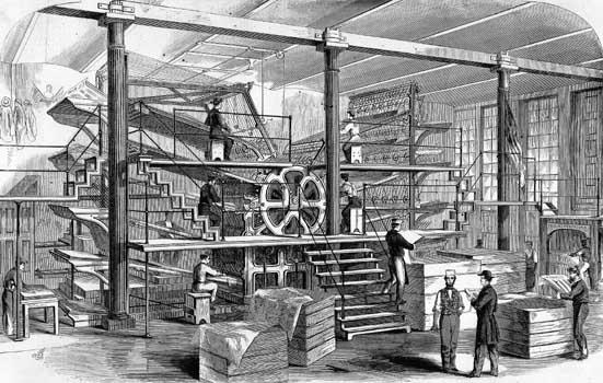 NY Tribune Printing Press-4