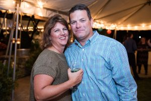 FMF Event Chair Kelly Sullivan and husband Tim, owners of Quaker Hill Tavern in Chappaqua