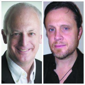 (L) Michael Shapiro (R) David Restivo