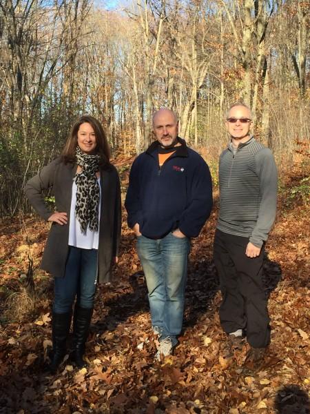 L-R: New Castle Deputy Supervisor Lisa Katz, New Castle Town Supervisor Rob Greenstein, and New Castle Resident and proposer of the ChapLine, Dan Googel