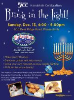 Rosenthal JCC's Hanukkah Celebration – Bring in the Light!