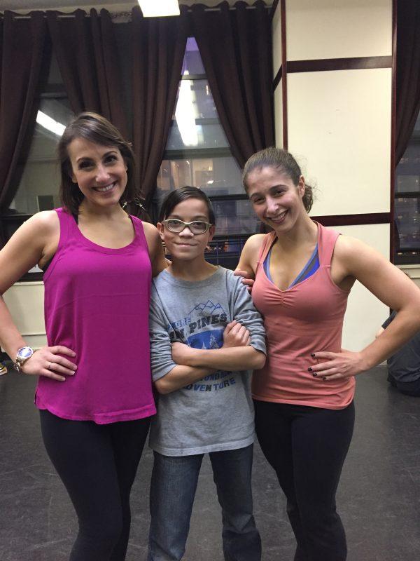 (L-R) Jenna Dalacco, Kyle Arzaga and Melanie Burg