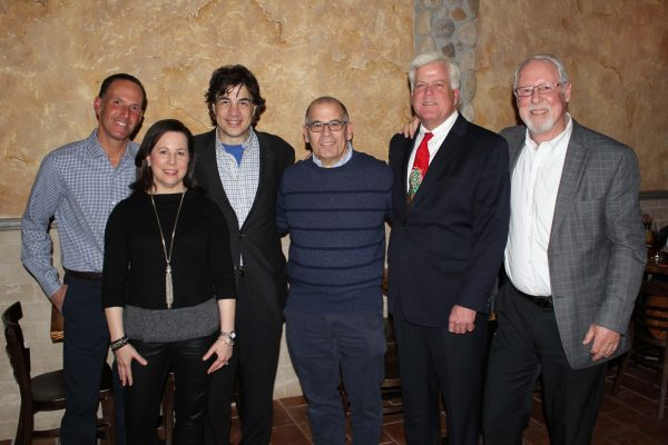 (L-R): Jason Rosensweig, Stacy Wilder, Michael Levy, Neal Schwartz, Chris Carthy and Robby Morris