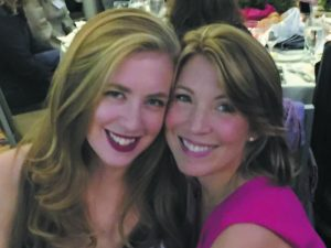 Susan Chatzky (right) and her daughter Maile Hamilton at a recent Planned Parenthood fundraiser.
