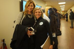 (l-r) Chappaqua's Jennifer Rosar Gefsky with Whitney Wasserman, NWH development manager, Capital Campaign