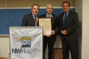 A second proclamation to NWH for its Centennial came from the County Legislators' office.