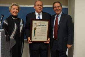A first proclamation from the County Executive's office: January 21, 2016 as Northern Westchester Hospital Day
