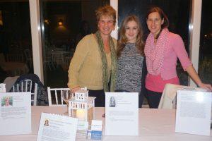 (L-R) Bernadette Bloom, Nicole Hair and Melysa Diament