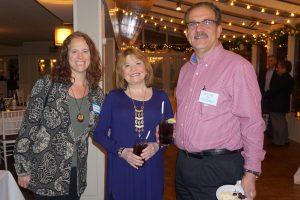 Beth Rordham, Joan Bigg and Frank Bastone