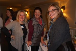 L-R: Johanna Kline, Wendy Nolan, Deena Bochier