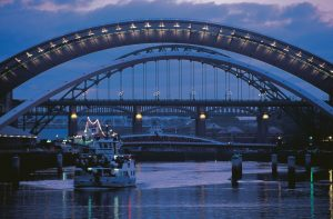 Bridges over the River Tyne, Newcastle, England