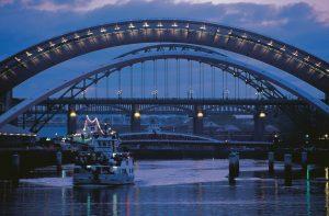 Bridges over the River Tyne, Newcastle, England