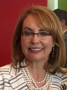 Former Congresswoman Gabby Giffords in White Plains       Photo by Jessica Meller