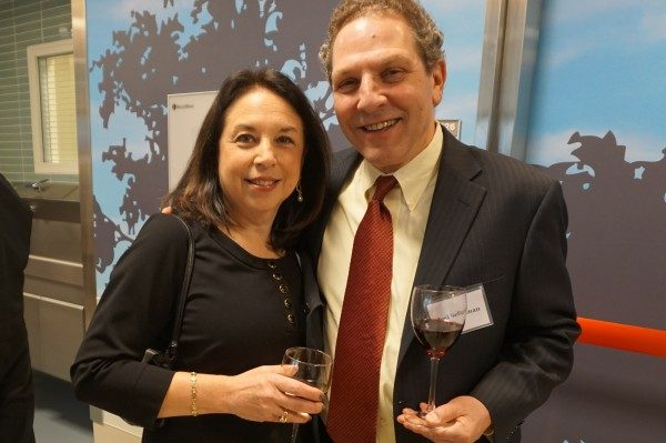 President and CEO of NWH Joel Seligman with his wife, Joyce