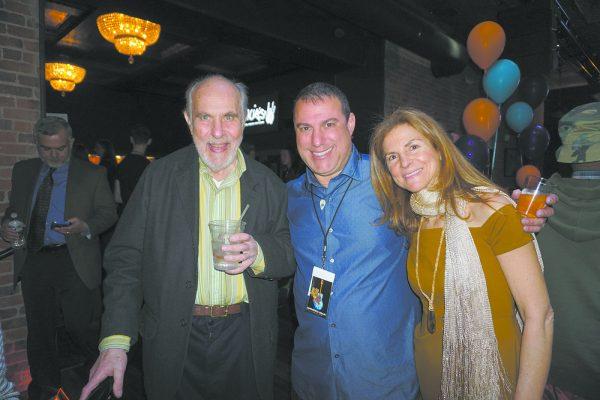 Miles' grandfather, Stan, and his parents, Ed and Shari Applebaum