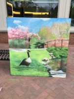 Chalk Art Dazzles during Chamber's 'First Thursday' Contest