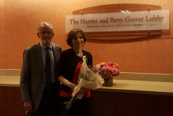Tom Hargrove with Anita Grover