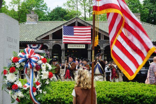 5th New York Regiment--Revolutionary War Squad at the Closing Ceremony at Memorial Plaza